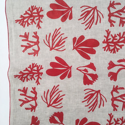 Seaweed Linen Tea Towel