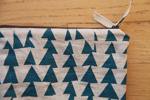 Triangles Zipper Pouch