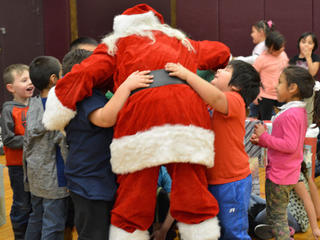 Santa will be visiting the Fort Peck Reservation!