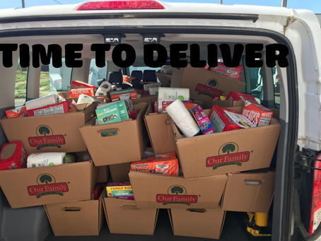 How many families can we deliver food to?