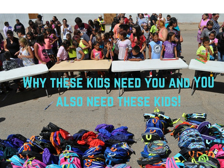 Why these kids need you and YOU also need these kids!