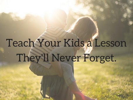 Are your kids sometimes ungrateful? Do you want to show you kids a lesson they will never forget?