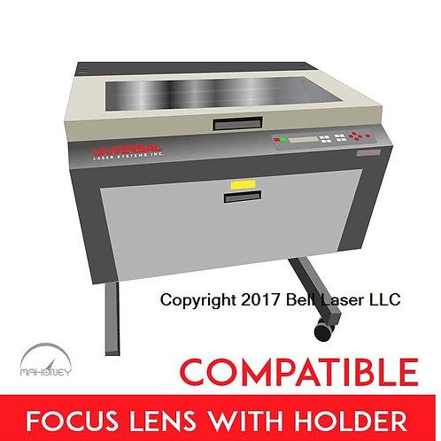 Premium 1.5 inch lens Universal Laser Systems Focus Lens w/holder