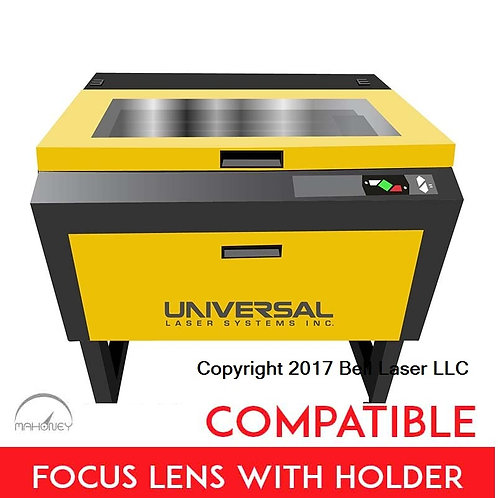 Medium Grade 4.0 inch lens Universal Laser Systems Focus Lens w/holder