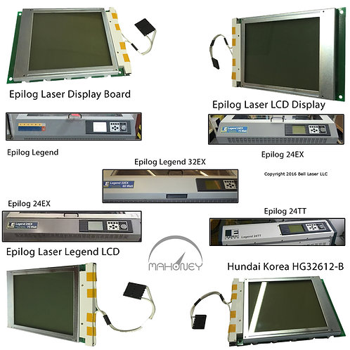 Epilog laser LCD display screen replacement