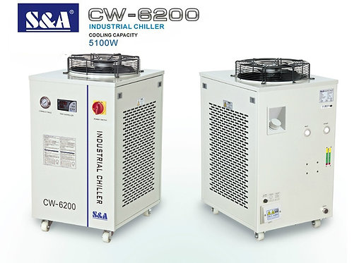 5.1 KW, S&A CW-6200 Industrial Water Chiller