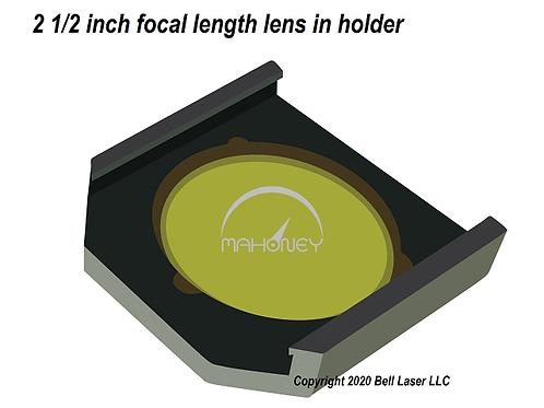 "Trotec 2.5"" Premium Focus Lens w/holder fits Speedy 300 Speedy 400 Speedy 500"
