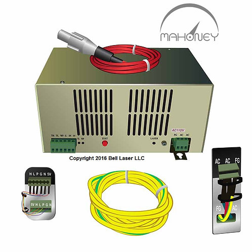 Chinese CO2 Laser Power Supply for 80 watt Long