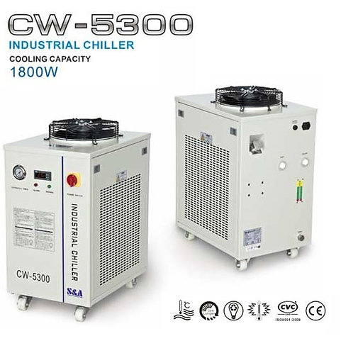 CW-5300 Industrial Water Chiller, 1.8 KW, S&A
