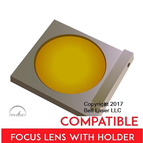 Premium 2.5 inch lens Universal Laser Systems Focus Lens w/holder