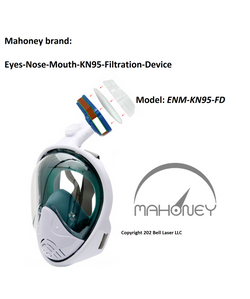 Mahoney face shield with filtration for