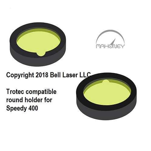 "2"" Premium Focus Lens w/round holder fits Trotec Speedy 300 Speedy 400"