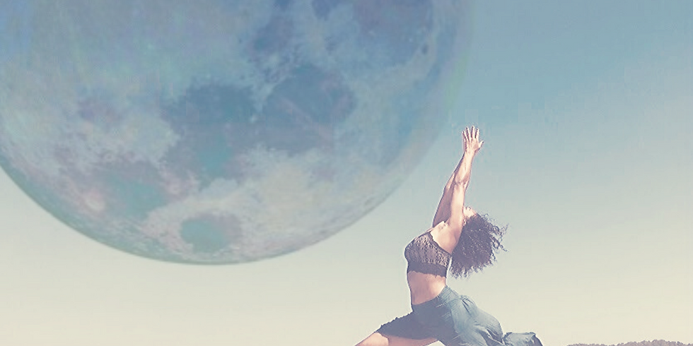 woman's moon retreat