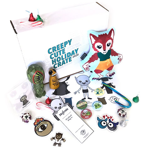 Mystery Monster Crate - A Creepy Cute Holiday in a Box!