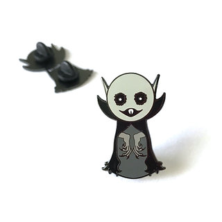 Creepy Cute Nosferatu Hard Enamel Pin