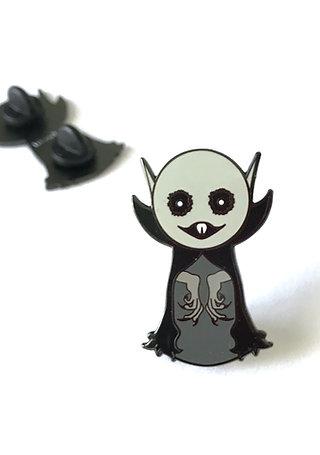Creepy Cute Nosferatu Hard Enamel Pin