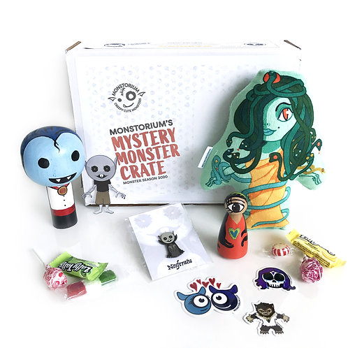 Mystery Monster Crate - Halloween 2020 in a Box!