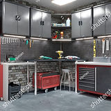 stock-photo-garage-interior-with-stend-o