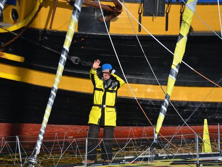 Sailing Around the World Alone