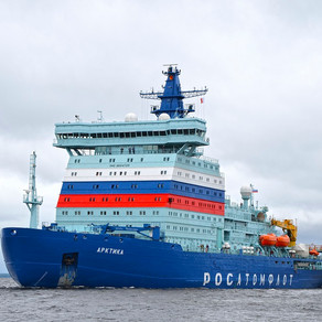 World's Largest Icebreaker is Under Way at Last