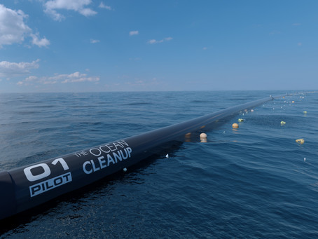 Ocean Cleanup In Motion