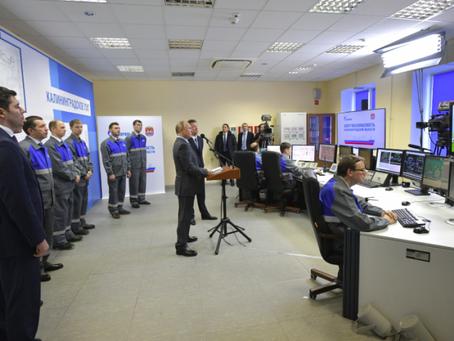 Putin Inaugurates Russia's 1st FSRU