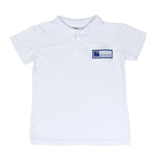 Escola Suíço-Brasileira Camisa Polo Piquet Branca Feminina