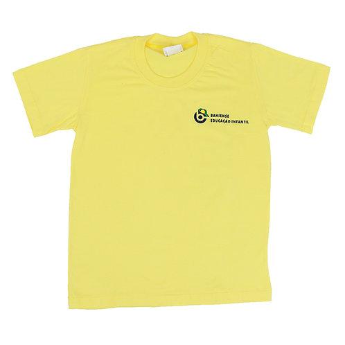 Camisa Manga Amarela - Colégio Bahiense Ed. Infantil