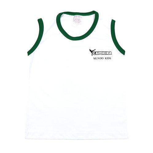Mundo Kids Camisa Capoeira