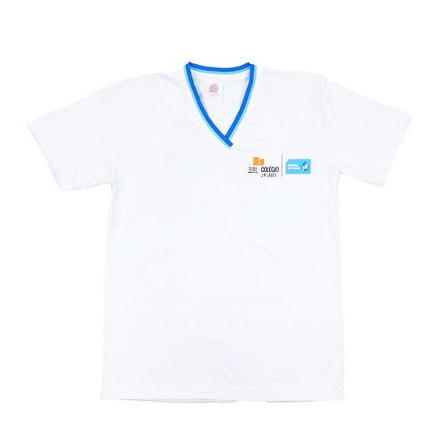 Jr Lages Camisa Manga Gola V Ens Medio