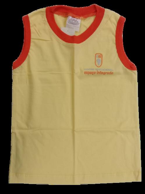 CEI -  Camisa sem manga amarela