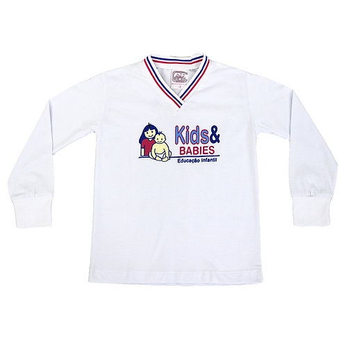 Kids & Babies Camisa Manga Longa