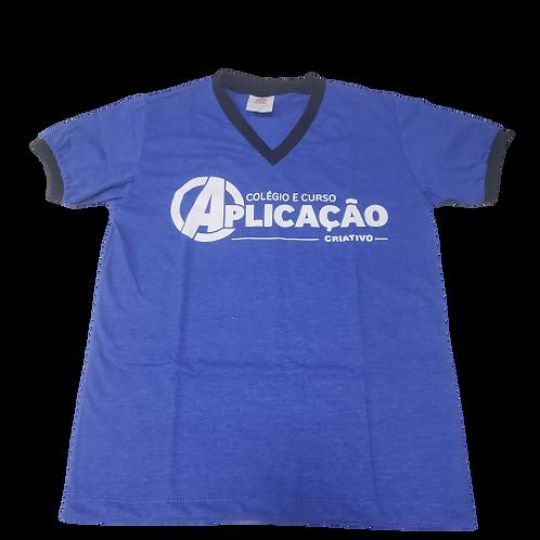 Camisa Azul - Colégio Aplicação