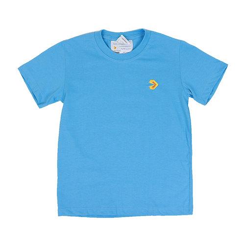 Eleva Camisa Malha Azul