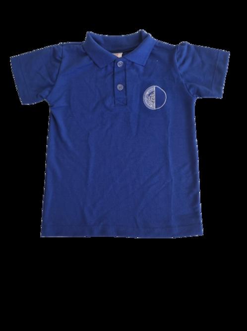Camisa Polo Azul - Rio International School