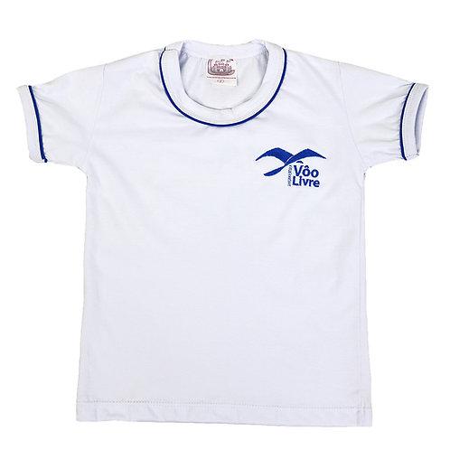 Colégio Voo Livre Camisa Malha Manga