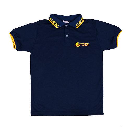 CER Camisa Polo Malha Azul Ens. Fundamental
