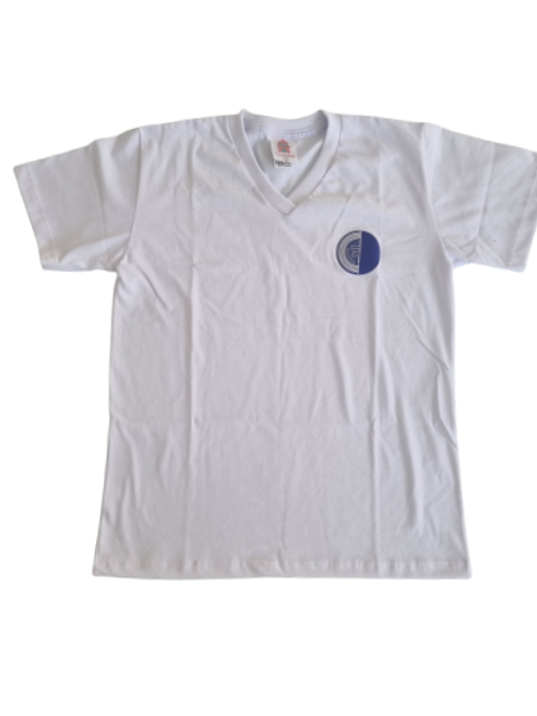 Camisa Malha Time Branco - Rio International School