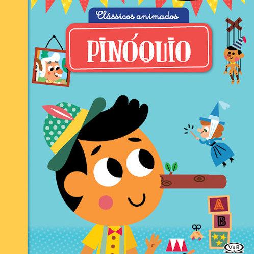 Livro Clássicos animados - Pinóquio