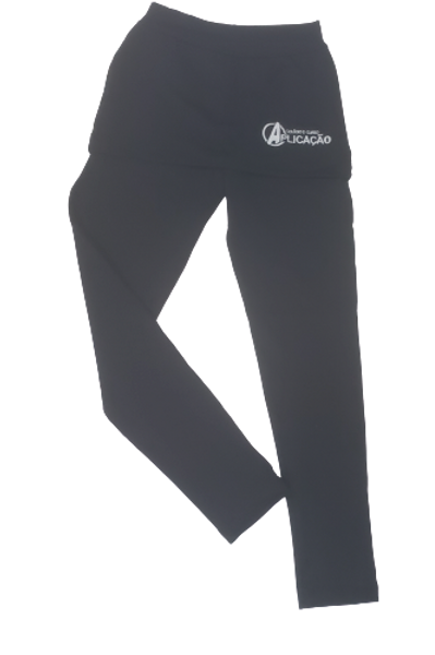 Calça Legging com saia - Colégio Aplicação