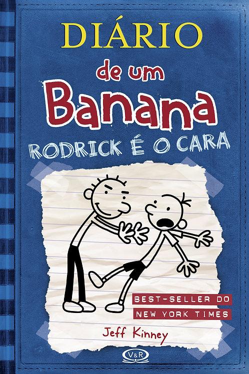 Livro Diário de um banana - 2 - Rodrick é o cara