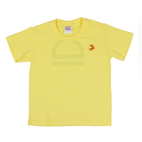 Eleva Camisa Malha Amarela
