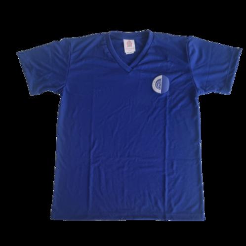 Camisa Malha Time Azul - Rio International School
