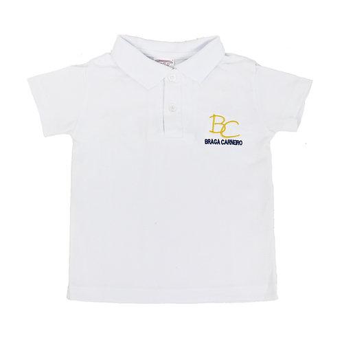 Braga Carneiro Camisa Polo Branca