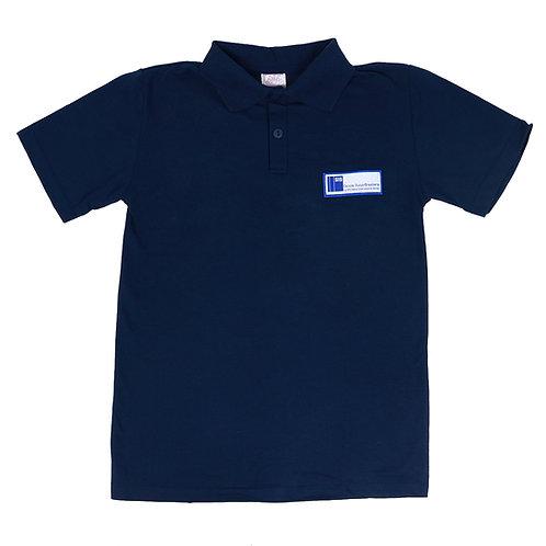 Escola Suíço-Brasileira Camisa Polo Piquet Azul Unissex
