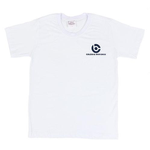 Camisa Branca Unissex - Colégio Bahiense