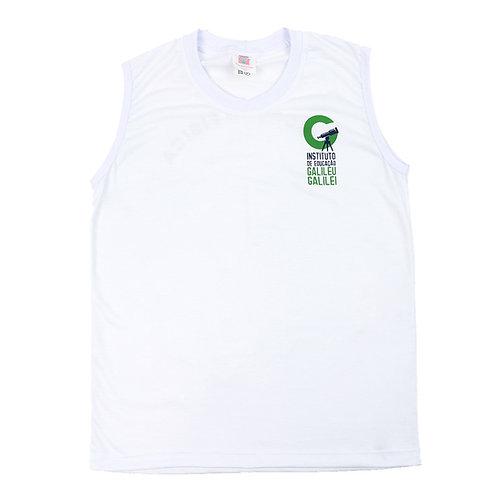 Inst. Galileu Camisa Sem Manga Branca Fund. II