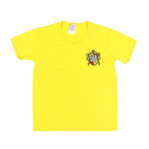 British School Camisa House Amarela Bordada