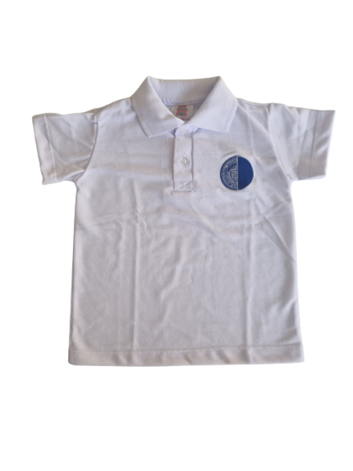 Camisa Polo Branca - Rio International School