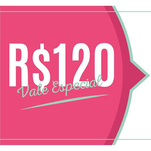 VALE R$120,00